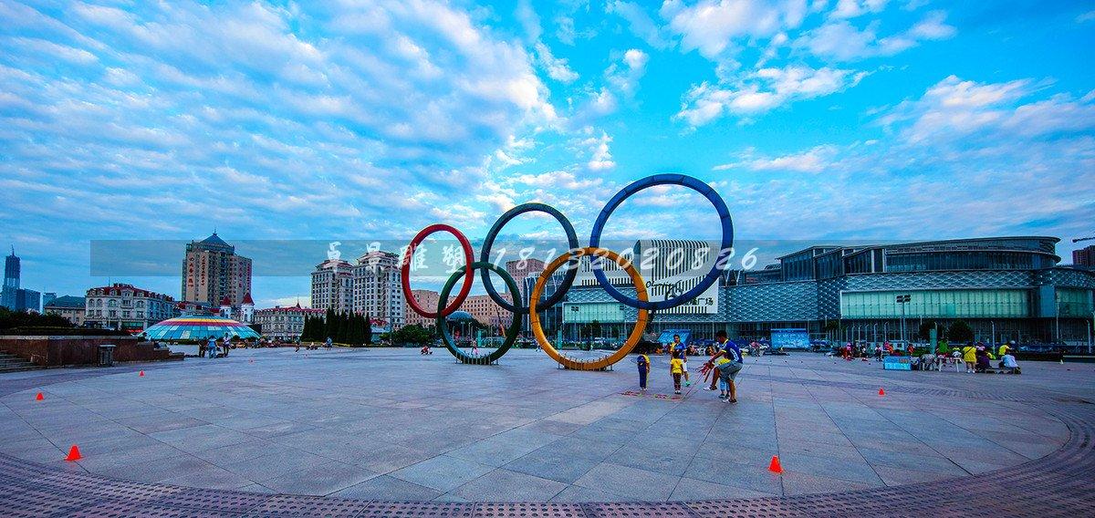 不锈钢五环雕塑,运动广场雕塑