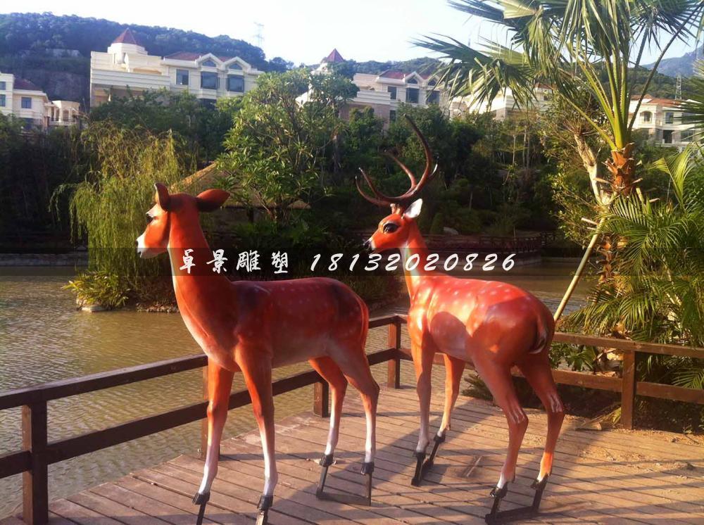 鹿-玻璃钢烤漆-福州禹州地产鼓山一号