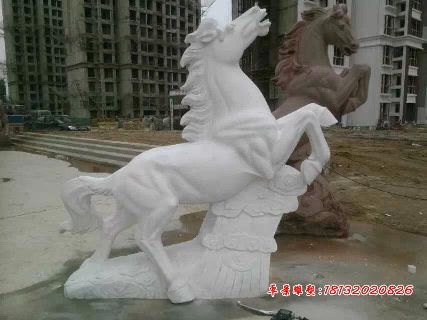 石雕马石材马雕塑