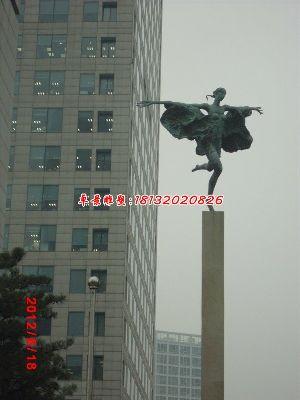 铜雕人物雕塑,广场女神铜雕