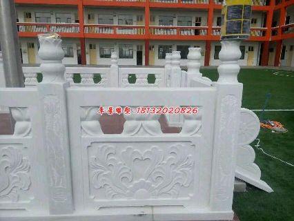 石雕栏板,汉白玉石浮雕栏
