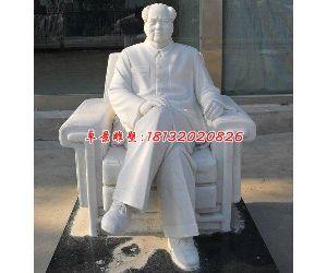 漢白玉毛主席石雕,廣場偉人石雕