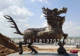 麒麟铜雕,广场麒麟铜雕