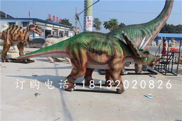 玻璃钢恐龙雕塑,玻璃钢仿真恐龙