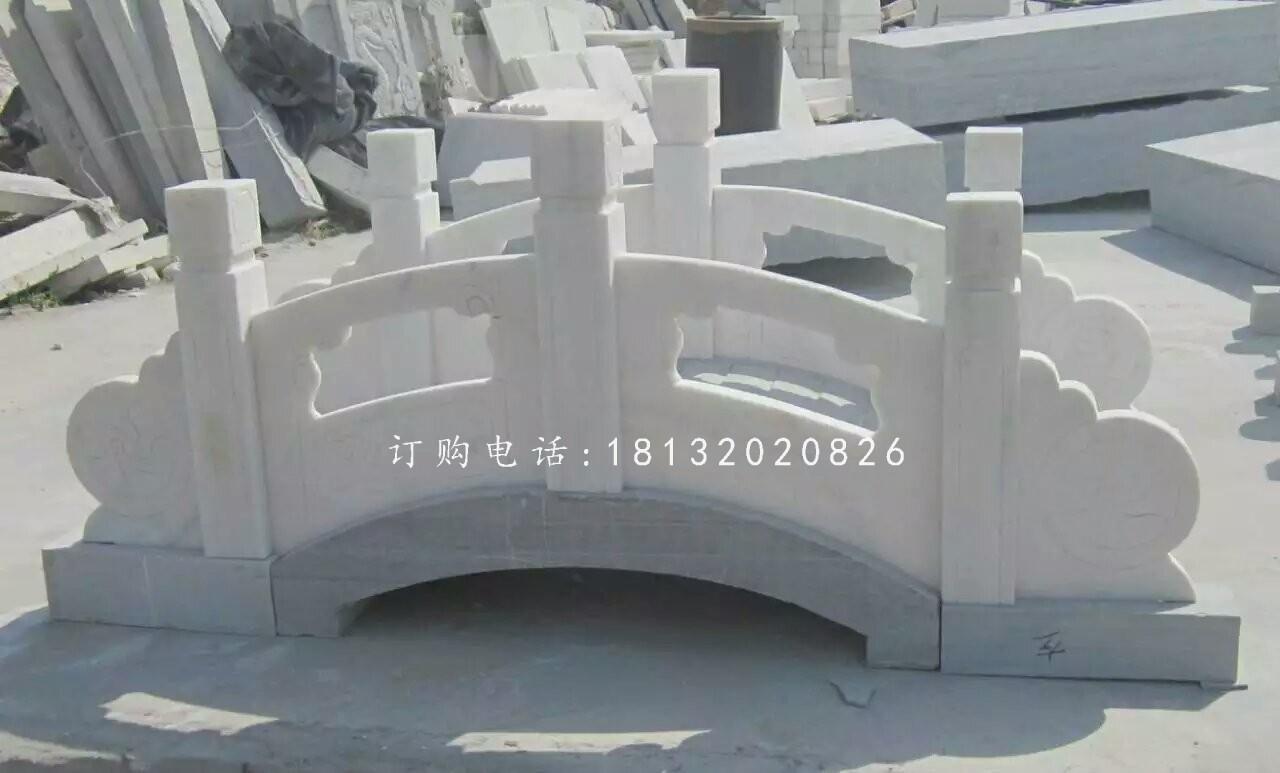 汉白玉石小桥雕塑 ,公园石桥雕塑