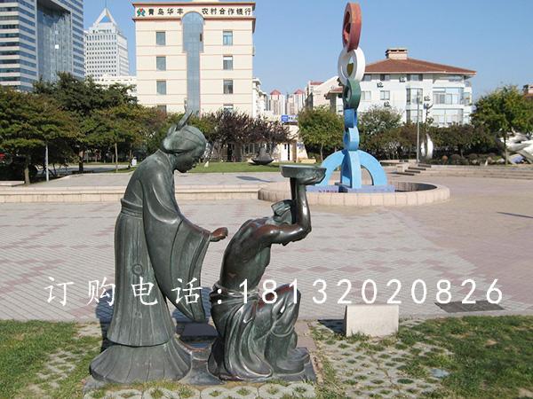 卓景雕塑--园林景观雕塑的特点