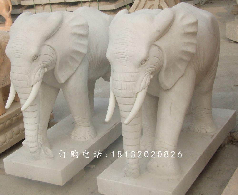石雕大象,广场大象石雕