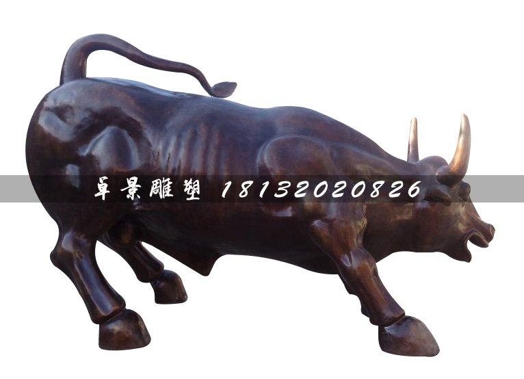 华尔街铜牛,广场动物铜雕