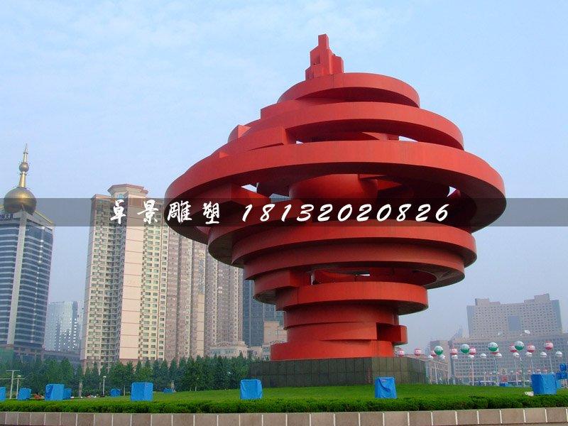 不锈钢五月的风雕塑,广场标志雕塑