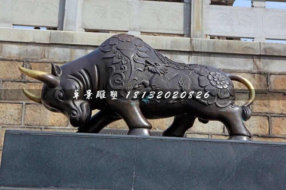 拓荒牛铜雕,广场铜牛雕塑