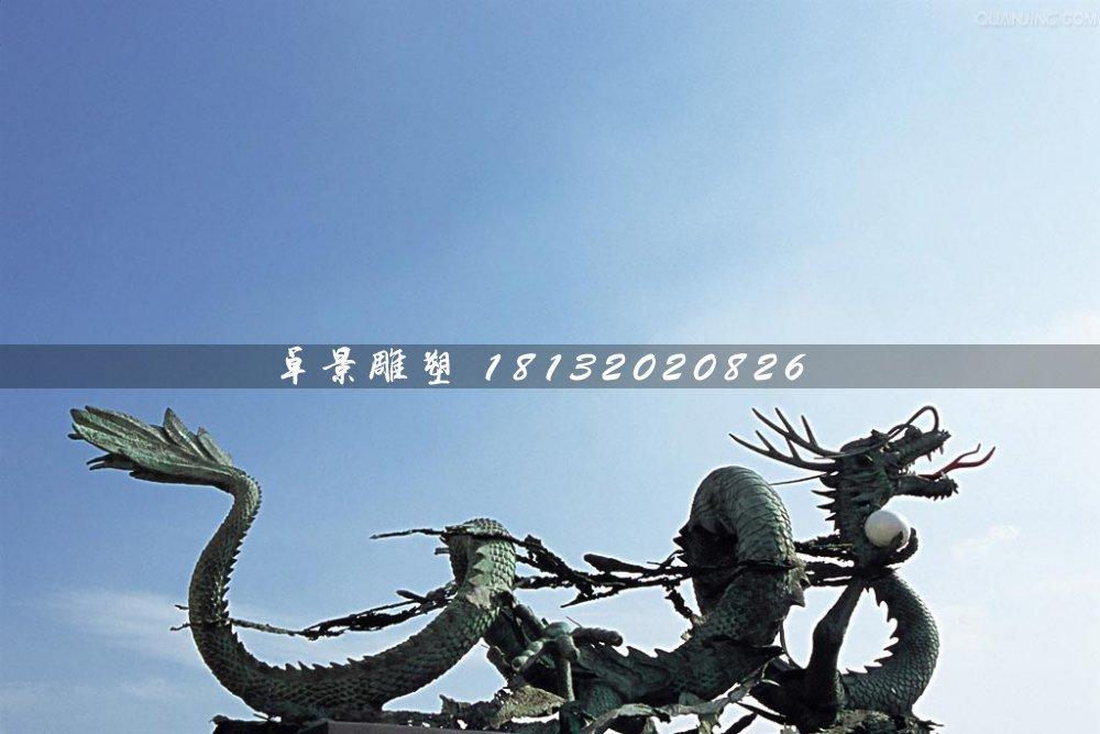 铜龙雕塑,广场青铜神兽雕塑