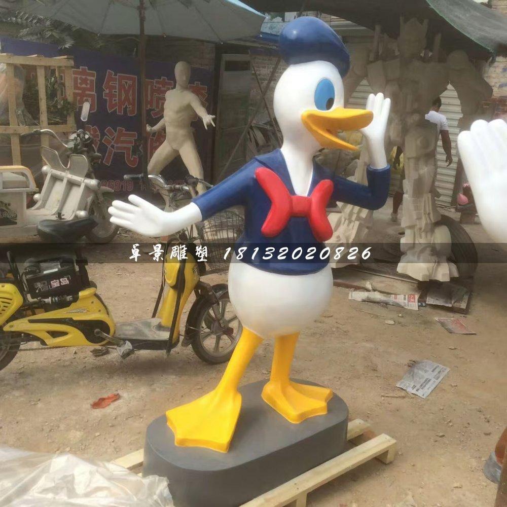 米老鼠唐老鸭雕塑,玻璃钢卡通雕塑