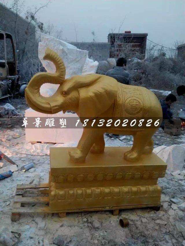 铜大象的寓意