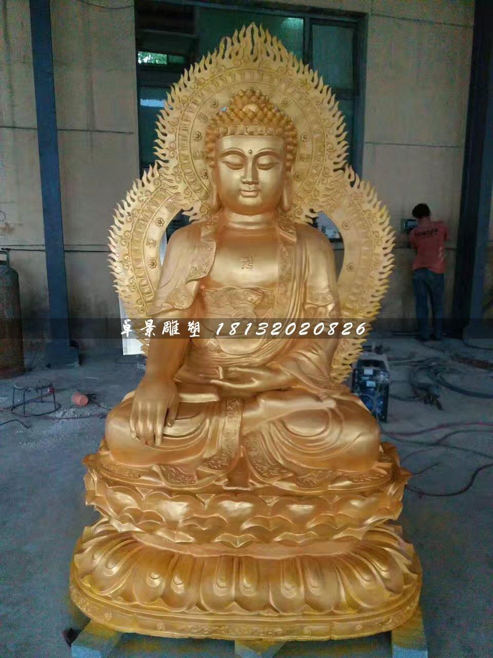 怎么清理铸铜佛像