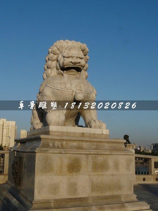北京狮,大理石狮子