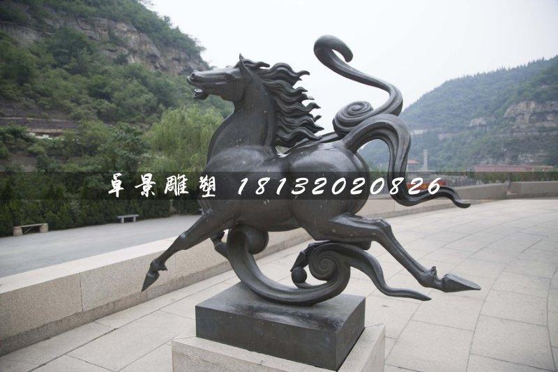 铜马雕塑,公园动物铜雕