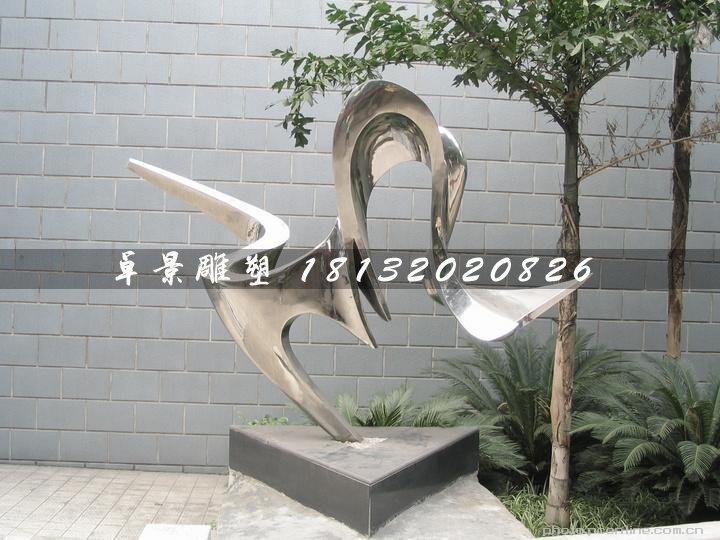 不锈钢抽象雕塑,庭院摆件