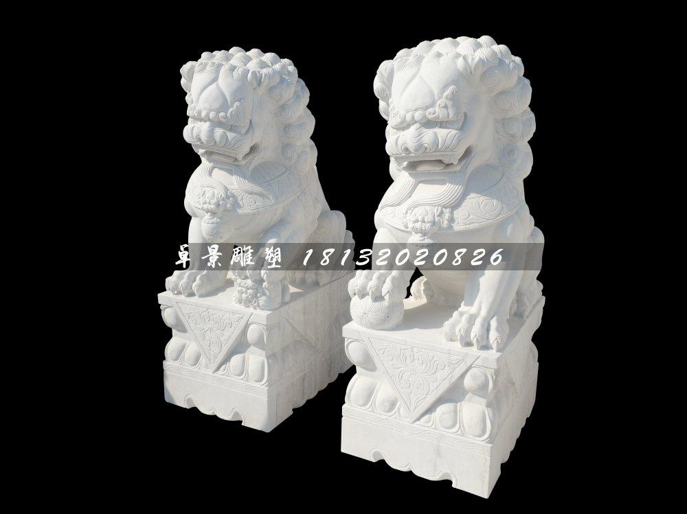 石雕狮子的摆放及作用