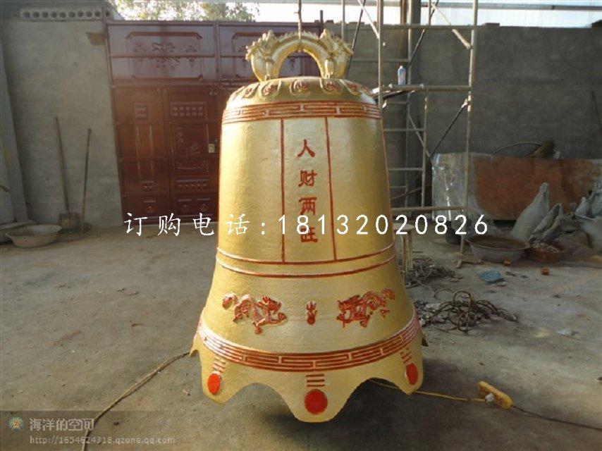 寺庙铜雕钟铸铜钟雕塑