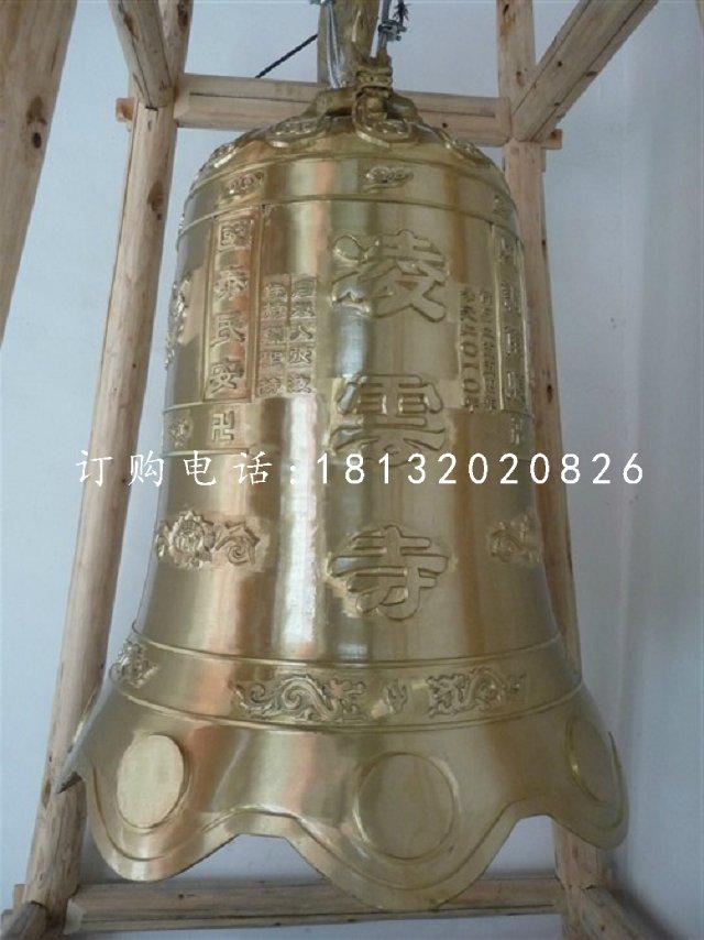 寺庙铜雕钟,铸铜钟雕塑