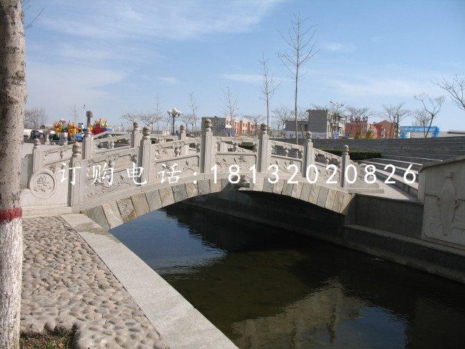 小桥石雕公园石拱桥雕塑