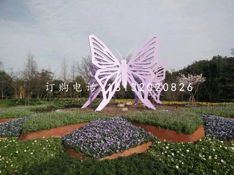 旅游区蝴蝶雕塑景观不锈钢雕塑