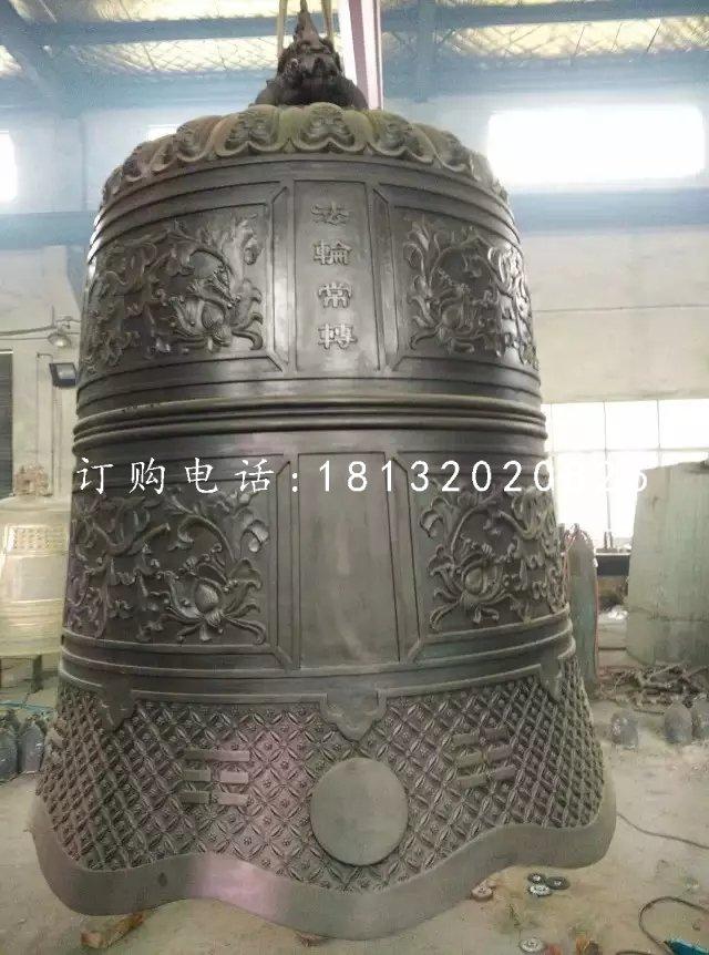 国泰民安铜钟寺庙铜雕钟