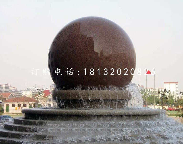 大型风水球,广场景观石雕