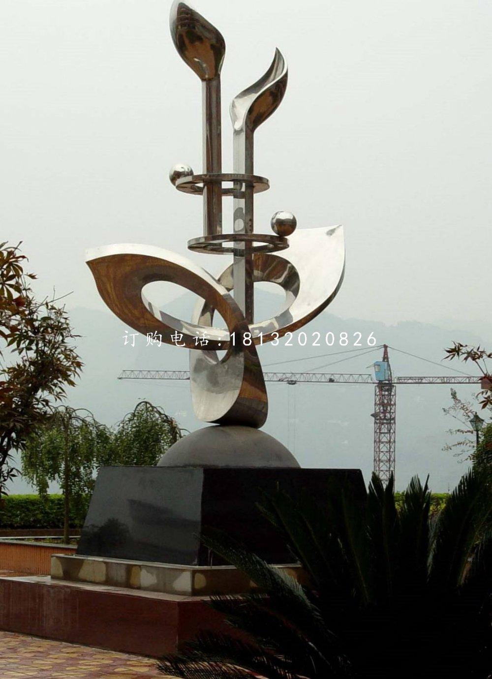 不锈钢成长雕塑,校园不锈钢雕塑