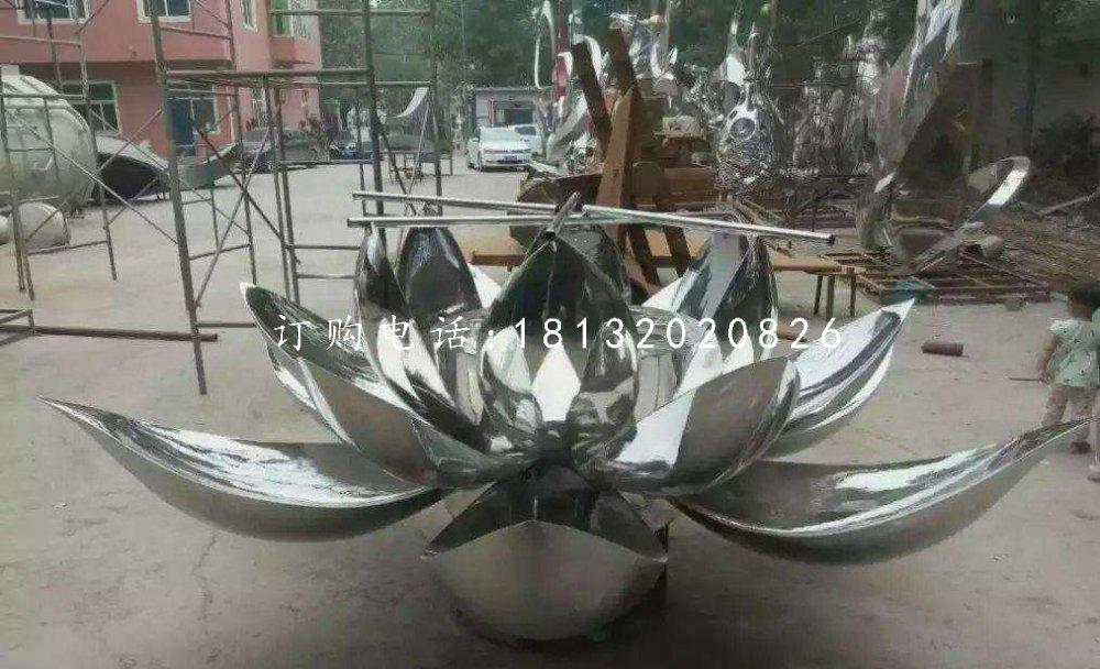 不锈钢莲花,广场不锈钢雕塑
