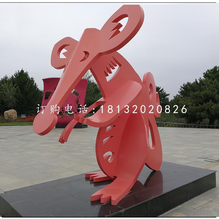 不锈钢雕塑的中外区别