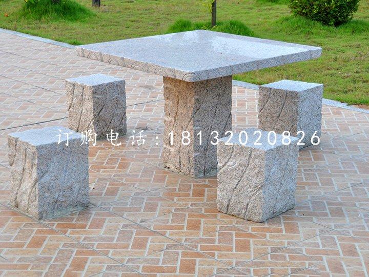 公园石桌椅,大理石桌凳