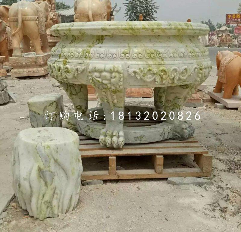 石桌石凳雕塑公园桌凳石雕