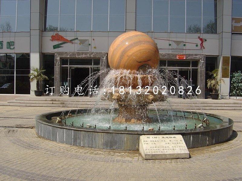 石来转运球雕塑企业风