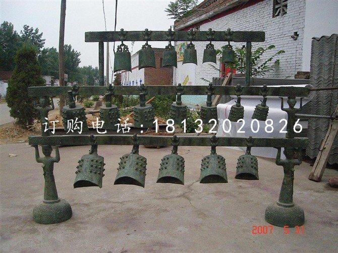 铜雕编钟仿古铜钟雕塑