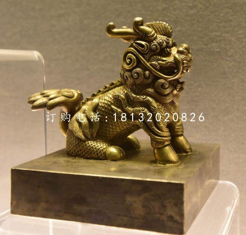 麒麟铜雕,铸铜神兽雕塑