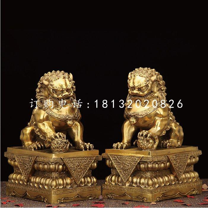 铜狮子,鎏金铜北京狮