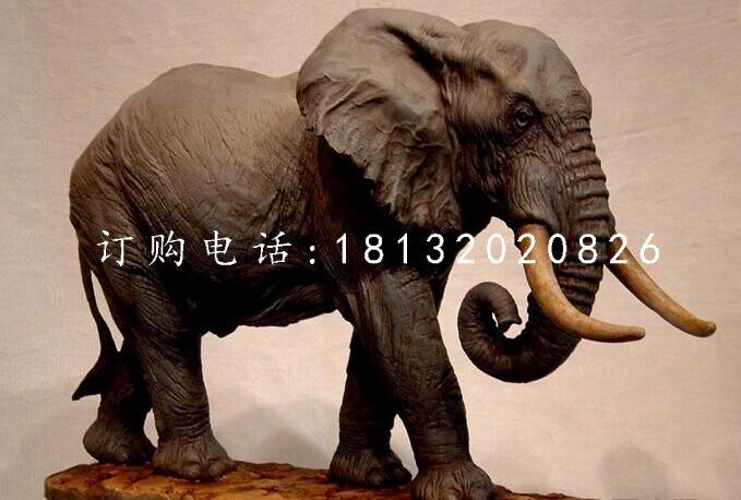大象雕塑,铜雕大象