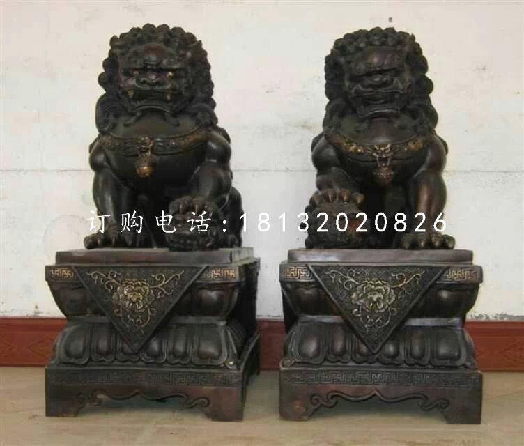 小型铜狮子,北京狮铜雕