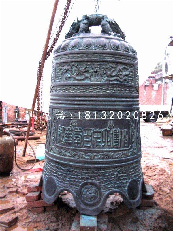青铜钟,仿古寺庙铜钟