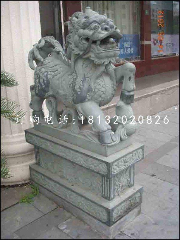 麒麟雕塑,青石动物雕塑