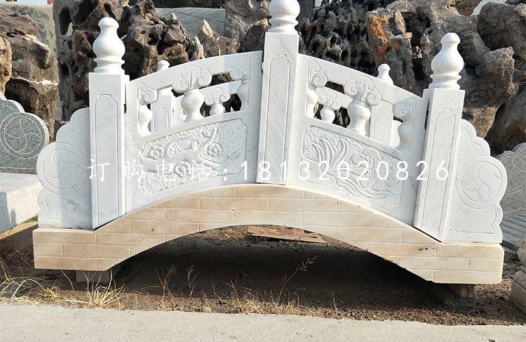 汉白玉桥,石雕小桥