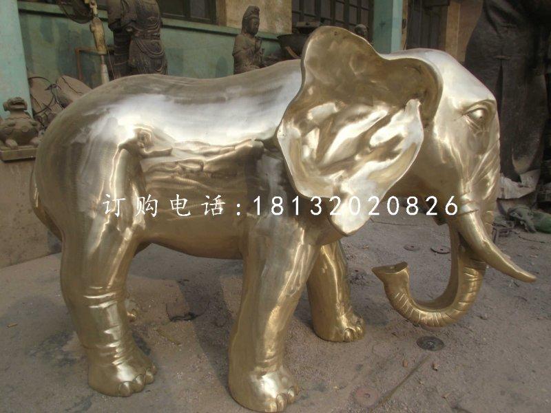 铸铜大象雕塑酒店动物雕