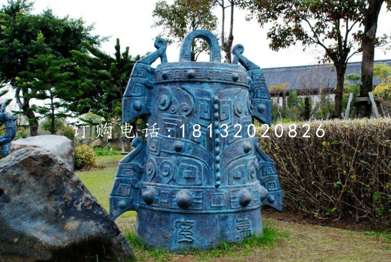 青铜鼎雕塑公园铜雕鼎