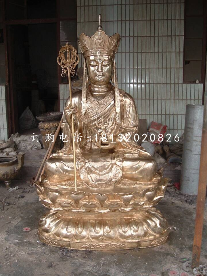 铜雕地藏王菩萨铸铜佛像雕塑