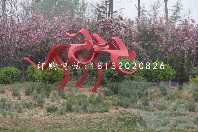 校园雕塑体现精神文化