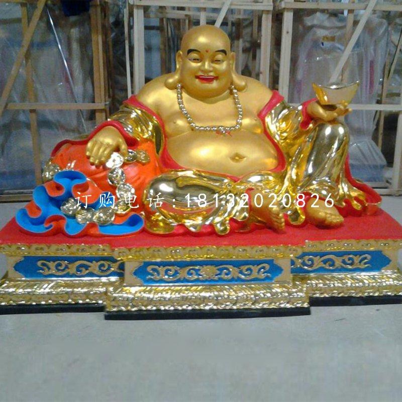 大肚弥勒佛像,玻璃钢佛像