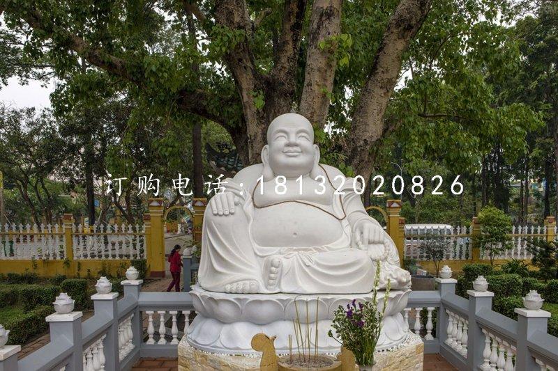 石雕弥勒佛寺庙笑面佛石雕