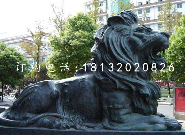 狮子铜雕,铸铜狮子雕塑