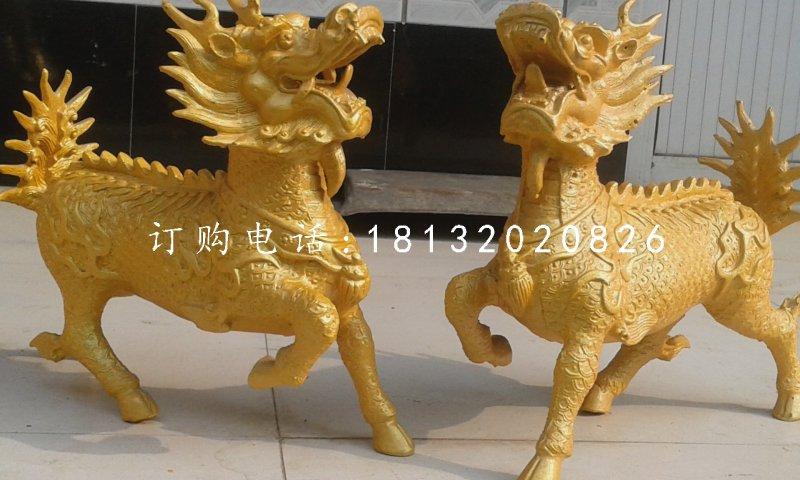 麒麟铜雕,广场铜麒麟